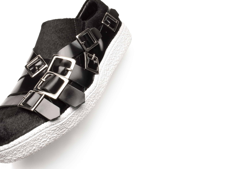 DV077-Diego-Vanassibara-Pony-Black-Buckles-Shoe